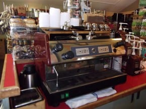 Espresso Machine at the General Store