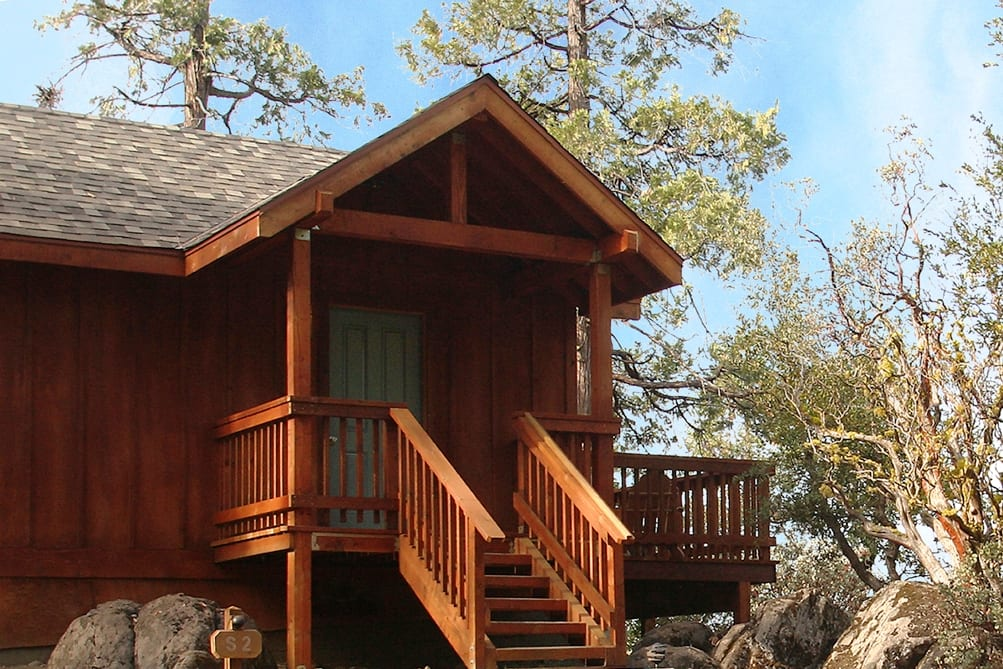 One Bedroom Cottages Evergreen Lodge Yosemite