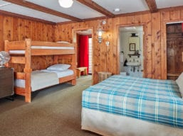 One-Room Family Cabin Interior