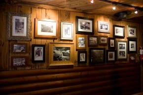 Historic Photos in the Evergreen Tavern