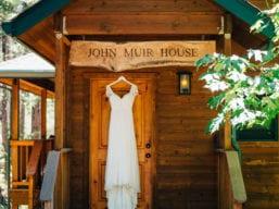 The Dress at John Muir House (Kelsey Kay of Ken Kienow Wedding Photography)