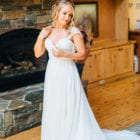 Matilda getting ready (Kelsey Kay of Ken Kienow Wedding Photography)