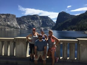 Hetch Hetchy from the Dam