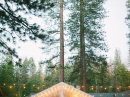 Evergreen Plaza Reception with Tent (L'Heureux Photography)