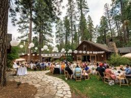 Evergreen Plaza Reception with Lanterns (Kim Carroll)